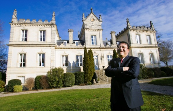 China comes to Bordeaux.